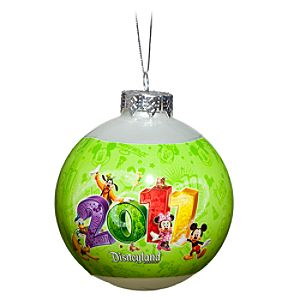 2011 Mickey Mouse and Friends Disneyland Ornament