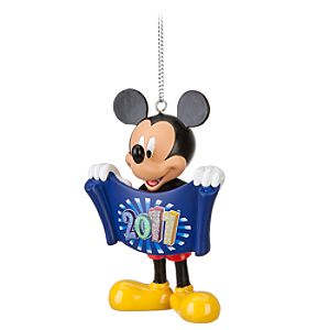 Disney Parks 2011 Mickey Mouse Ornament