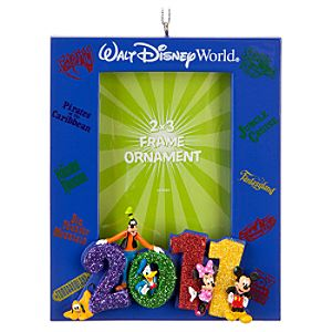 Walt Disney World 2011 Mickey Mouse Photo Frame Ornament -- 2 x 3
