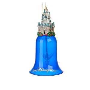 Walt Disney World Cinderella Castle Bell Ornament