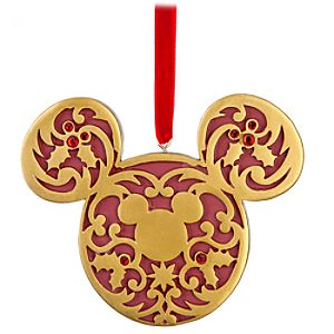 Victorian Icon Mickey Mouse Ornament