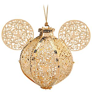 Exclusive Victorian Mickey Mouse Ornament by Baldwin