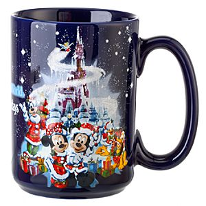 Happy Holidays Walt Disney World Mug
