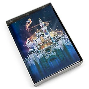 Holiday Sleeping Beauty Castle Disneyland Greeting Cards
