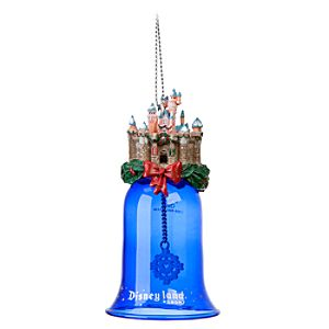 Disneyland Sleeping Beauty Castle Bell Ornament