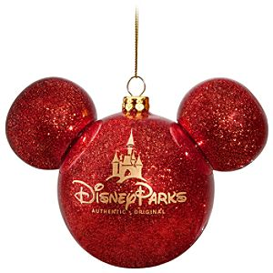 Icon Mickey Mouse Ornament -- Red