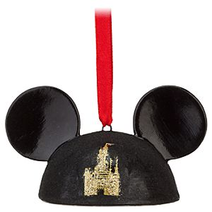 Walt Disney World 40th Anniversary Ear Hat Ornament