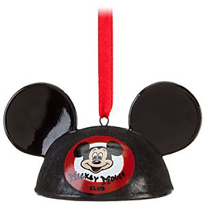 Mickey Mouse Club Mouseketeer Ear Hat Ornament