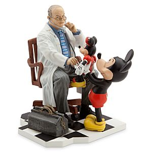 Mickey Mouse with Doctor Figure - Disney Parks