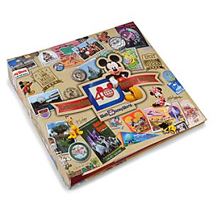 Medium 40 Years of Magic Walt Disney World Photo Album