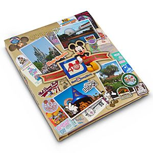 Large 40 Years of Magic Walt Disney World Photo Album