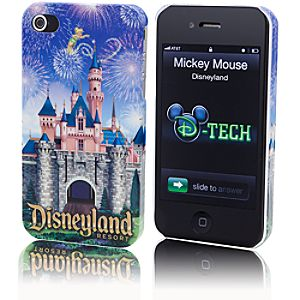 Disneyland Resort Sleeping Beauty Castle iPhone 4 Case