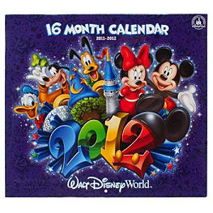 2012 Walt Disney World Resort Calendar