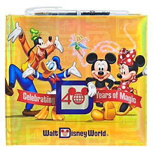 Deluxe Magic Kingdom 40th Anniversary Autograph Book