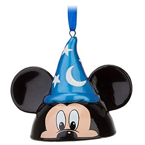 Sorcerer Mickey Mouse Ear Hat Ornament