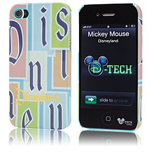 Limited Edition Classic Logo Disneyland iPhone 4S Case