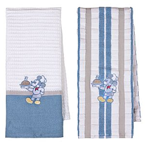 Gourmet Mickey Mouse Kitchen Towel Set -- 2-Pk.