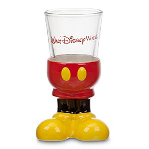 Walt Disney World Best of Mickey Mouse Mini Glass