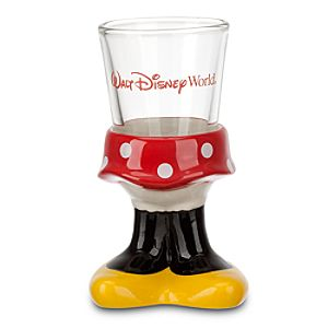 Minnie Mouse Mini Glass