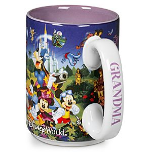 Disney Storybook Attractions Mug for Grandma