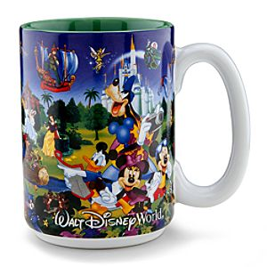 Disney Storybook Attractions Mug for Grandpa