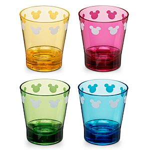2-oz. Color Fusion Mickey Mouse Mini-Tumbler Set -- 4-Pc.