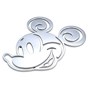 Aluminum Mickey Mouse Trivet