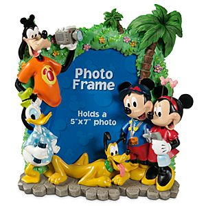 Tourist Mickey Mouse Photo Frame -- 5 x 7