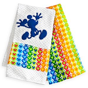 Mickey Mouse Kitchen Towel Set - Color Fusion