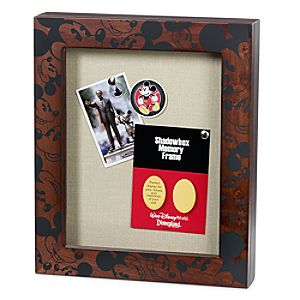 Mickey Mouse Shadow Box Frame