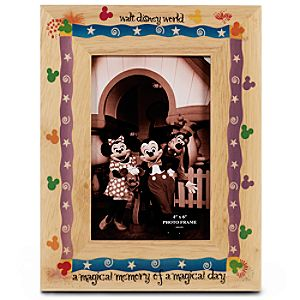 Magical Memory Walt Disney World Picture Frame -- 4 x 6