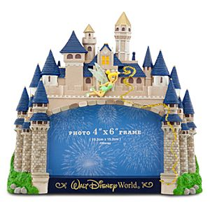 Walt Disney World Cinderella Castle Photo Frame -- 4 x 6