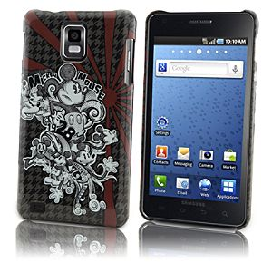Houndstooth Mickey Mouse Samsung Infuse 4G Phone Case