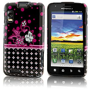 Pop Dots Minnie Mouse Motorola Atrix 4G Phone Case