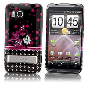 Pop Dots Minnie Mouse HTC Thunderbolt Phone Case