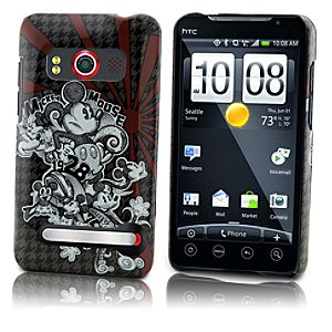 Houndstooth Mickey Mouse HTC Evo 4G Phone Case