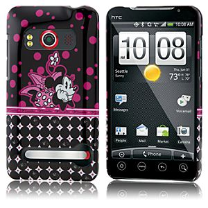 Pop Dots Minnie Mouse HTC Evo 4G Phone Case
