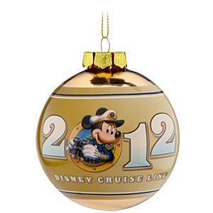 Disney Cruise Line 2012 Ornament