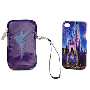 Walt Disney World Castle iPhone 4 Case and Carry Case Set