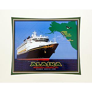 Disney Cruise Line Alaska Art Print -- 11 x 14