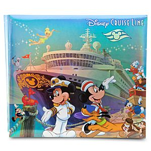 Disney Cruise Line Storybook Character Scrapbook Album