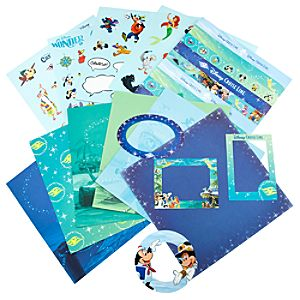 Disney Cruise Line Storybook Character Scrapbooking Kit