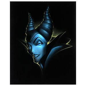 Limited Edition Vault 28 Villains Maleficent Giclée by Noah