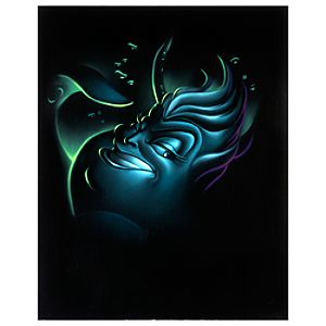 Limited Edition Vault 28 Villains Ursula Giclée by Noah