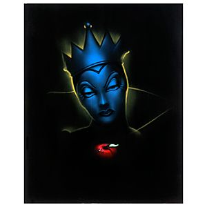 Limited Edition Vault 28 Villains Evil Queen Giclée by Noah