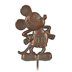 Classic Mickey Mouse Garden Stake