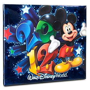 2012 Walt Disney World Mini Scrapbook