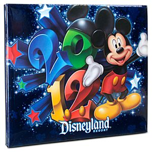 2012 Disneyland Mini Scrapbook