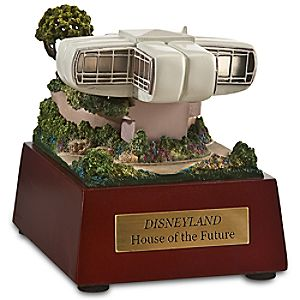 Disneyland House of the Future Miniature by Olszewski