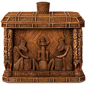 Tiki Drums The Enchanted Tiki Room Heirloom Box by Olszewski